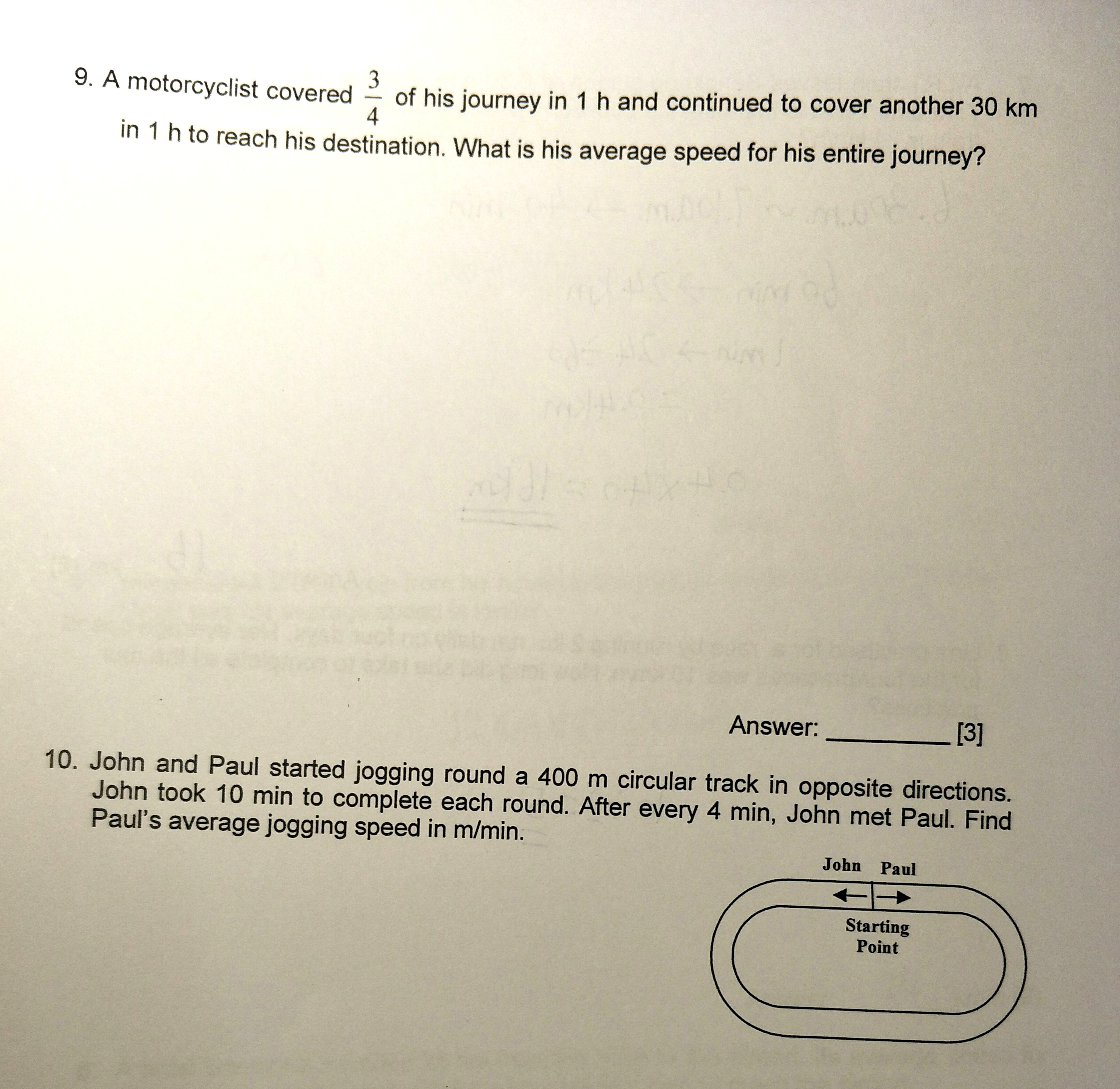 Primary 6 Maths Practice - Singapore Homework Questions